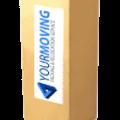 Коробка для лампы 40x40×100см